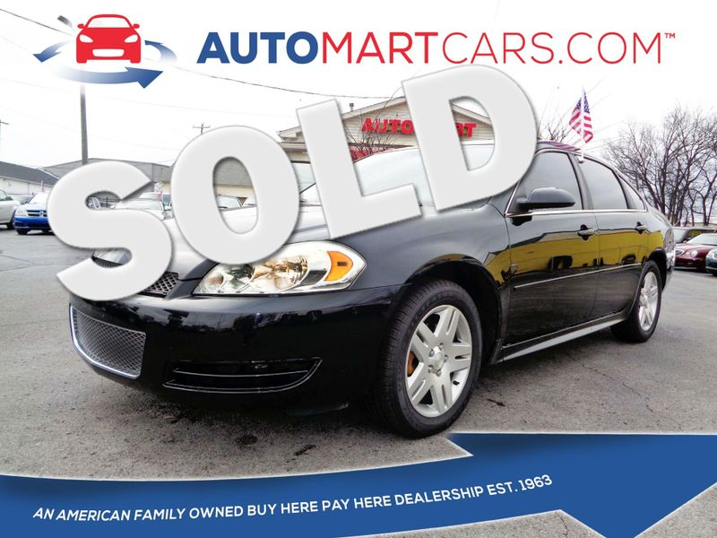2013 Chevrolet Impala LT | Nashville, Tennessee | Auto Mart Used Cars Inc. in Nashville Tennessee