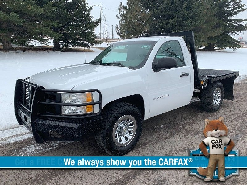 2013 Chevrolet Silverado 1500 4WD Reg Cab Work Truck  city MT  Bleskin Motor Company   in Great Falls, MT