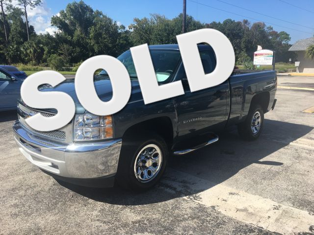 2013 Chevrolet Silverado 1500 Work Truck LS Amelia Island, FL