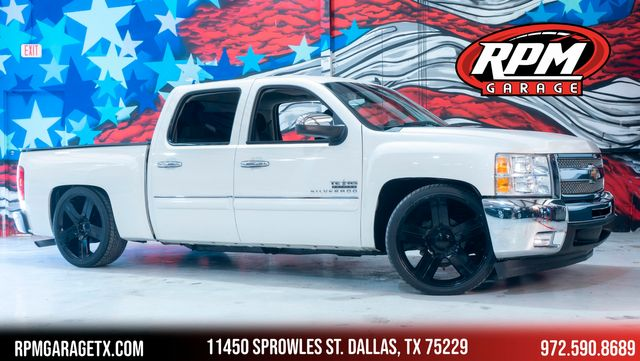 2013 Chevrolet Silverado 1500 LT Lowered