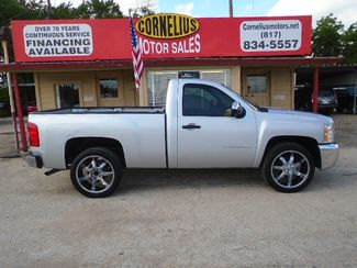 2013 Chevrolet Silverado 1500 Work Truck   Fort Worth, TX   Cornelius Motor Sales in Fort Worth TX