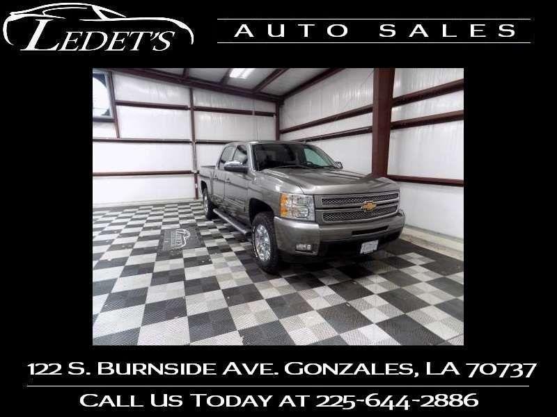 2013 Chevrolet Silverado 1500 LTZ 4WD - Ledet's Auto Sales Gonzales_state_zip in Gonzales Louisiana