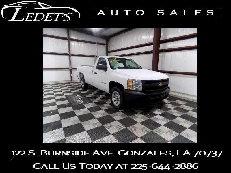2013 Chevrolet Silverado 1500 Work Truck - Ledet's Auto Sales Gonzales_state_zip in Gonzales Louisiana