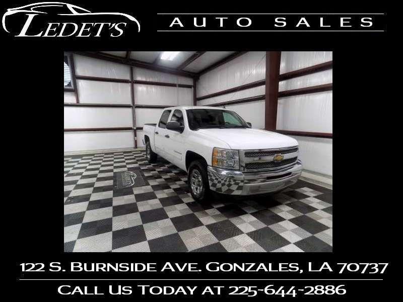 2013 Chevrolet Silverado 1500 LS - Ledet's Auto Sales Gonzales_state_zip in Gonzales Louisiana