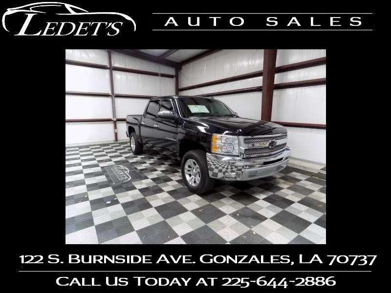2013 Chevrolet Silverado 1500 LT - Ledet's Auto Sales Gonzales_state_zip in Gonzales Louisiana