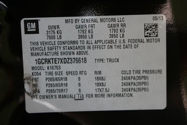 2013 Chevrolet Silverado 1500 LTZ PLUS EXT Cab 4x4 Z71 - HEATED/COOLED LEATHER! Mooresville , NC 44