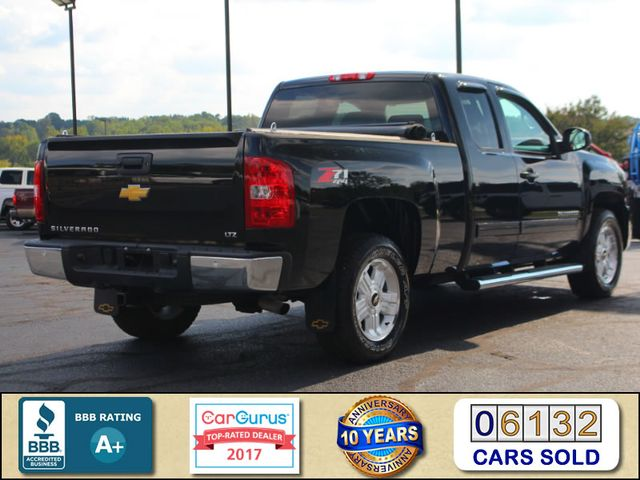 2013 Chevrolet Silverado 1500 LTZ PLUS EXT Cab 4x4 Z71 - HEATED/COOLED LEATHER! Mooresville , NC 2