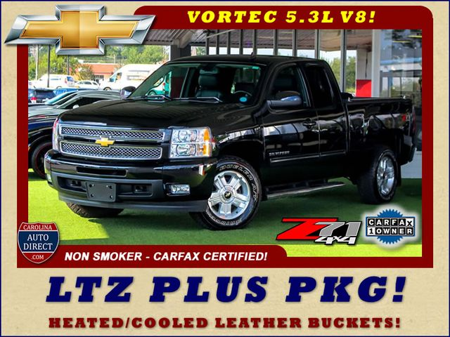 2013 Chevrolet Silverado 1500 LTZ PLUS EXT Cab 4x4 Z71 - HEATED/COOLED LEATHER! Mooresville , NC 0