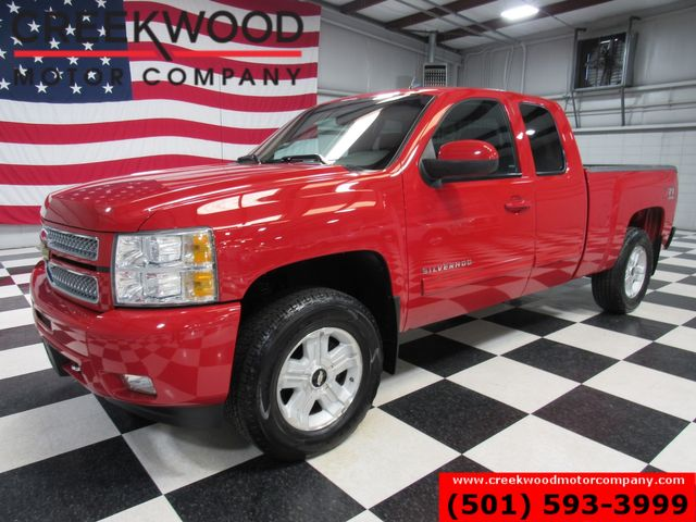 2013 Chevrolet Silverado 1500 LT 4x4 Z71 Red New Tires Extended Cab Cloth NICE