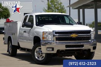 2013 Chevrolet Silverado 2500 LT 4x4 Utility Bed   Extended Cab 42 Service Records in Plano Texas, 75093