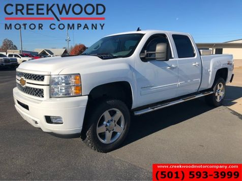 2013 Chevrolet Silverado 2500HD LT 4x4 Z71 Diesel Allison White Leather Chrome 20s in Searcy, AR