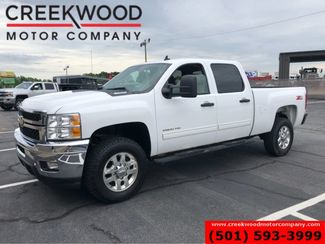 2013 Chevrolet Silverado 2500HD LT 2WD Diesel Z71 White Low Miles Leather Chrome in Searcy, AR 72143