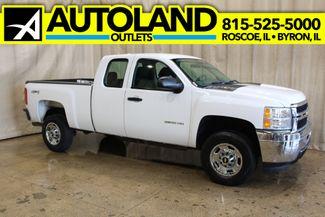 2013 Chevrolet Silverado 2500HD 4x4 Work Truck in Roscoe, IL 61073