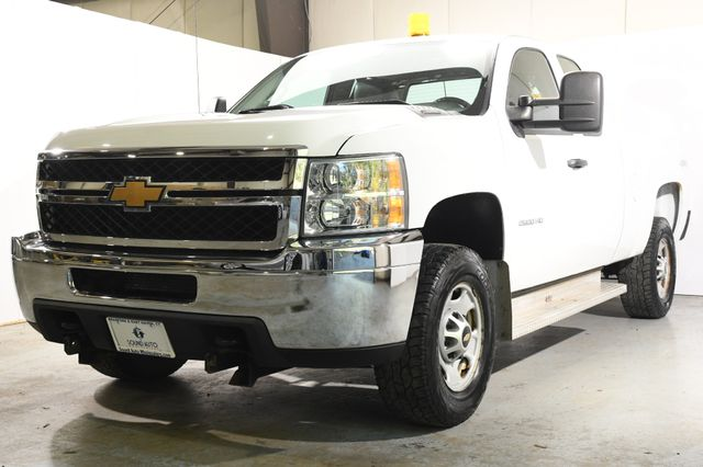 2013 Chevrolet Silverado 2500HD LT w/ Mint 8' Fisher Plow