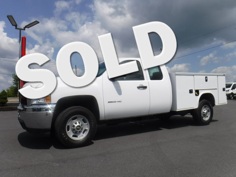 2013 Chevrolet Silverado 2500HD Extended Cab 2wd with New 8' Knapheide Utility Bed in Ephrata PA