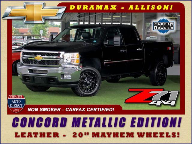 2013 Chevrolet Silverado 2500HD LT Crew Cab 4x4 Z71 - CONCORD METALLIC EDITION! Mooresville , NC 0