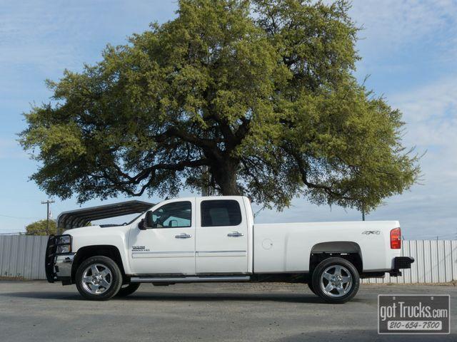 2013 Chevrolet Silverado 2500HD Crew Cab LT 6.6L Duramax Turbo Diesel 4X4
