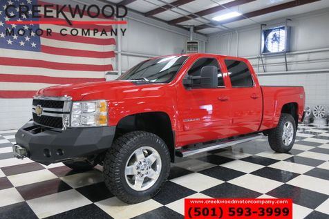 2013 Chevrolet Silverado 2500HD LTZ 4x4 Z71 Diesel Red LeatherHtd Chrome 20s Winch in Searcy, AR