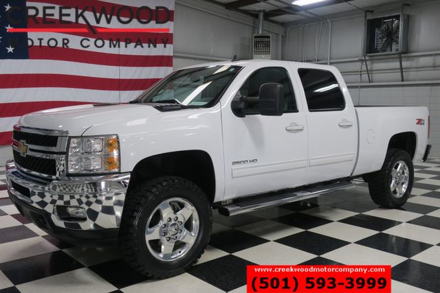 2013 Chevrolet Silverado 2500HD LTZ 4x4 Diesel Leather Chrome 20s New Tires 1Owner