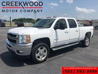 2013 Chevrolet Silverado 2500HD LTZ 4x4 Diesel Allison White Chrome 20s 1 Owner in Searcy, AR 72143