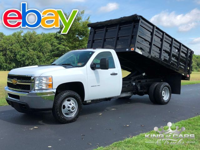 2013 Chevrolet Silverado 3500 4X4 RCAB LANDSCAPE DUMP 1-OWNER ONLY 59K MILES in Woodbury, New Jersey 08096