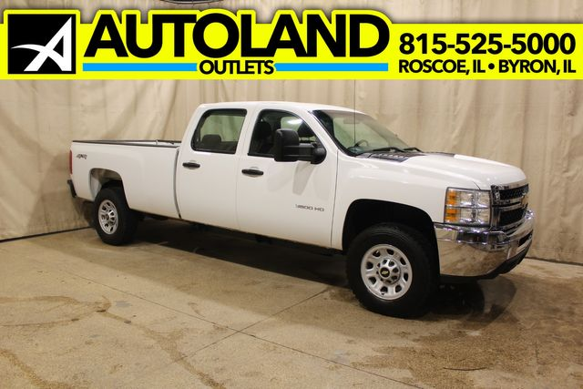 2013 Chevrolet Silverado 3500HD 4x4 Long Bed Work Truck