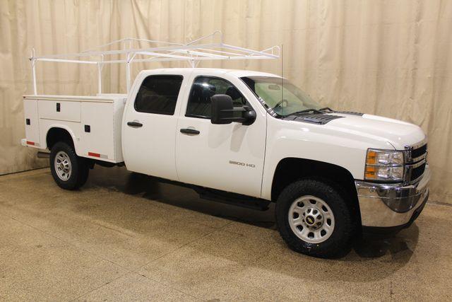 2013 Chevrolet Silverado 3500HD 4x4 Diesel Utlity Work Truck