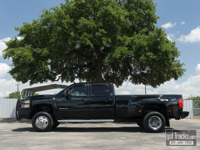 2013 Chevrolet Silverado 3500HD Crew Cab LTZ 6.6L Duramax Turbo Diesel 4X4