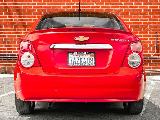 2013 Chevrolet Sonic LT Burbank, CA 3