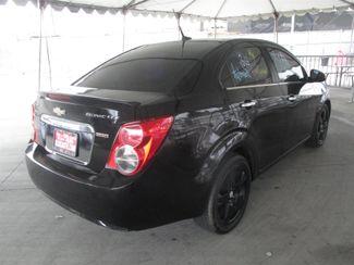 2013 Chevrolet Sonic LTZ Gardena, California 2