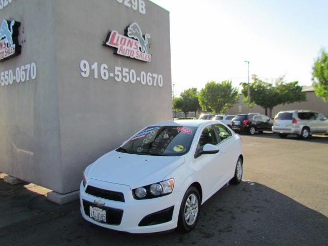 2013 Chevrolet Sonic LT in Sacramento, CA 95825