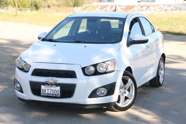 2013 Chevrolet Sonic LTZ Santa Clarita, CA 4