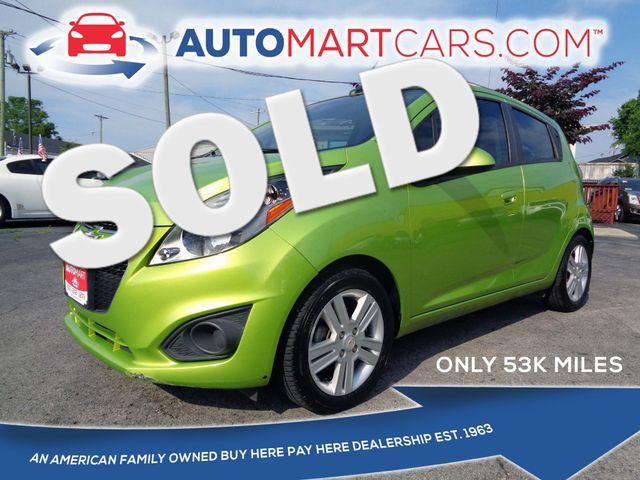 2013 Chevrolet Spark LT | Nashville, Tennessee | Auto Mart Used Cars Inc. in Nashville Tennessee