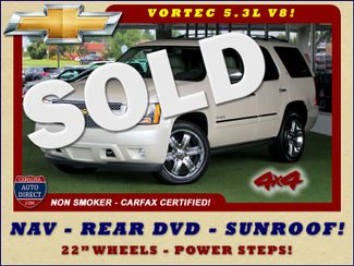 2013 Chevrolet Tahoe LTZ 4X4 - NAV - REAR DVD - SUNROOF - POWER STEPS! Mooresville , NC