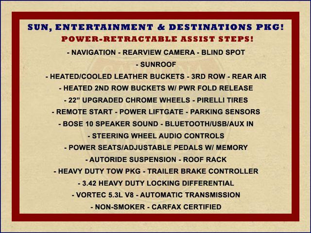 2013 Chevrolet Tahoe LTZ 4X4 - NAV - REAR DVD - SUNROOF - POWER STEPS! Mooresville , NC 1