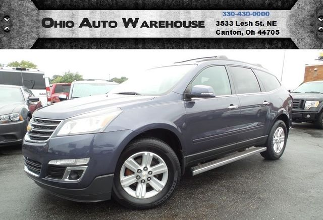 2013 Chevrolet Traverse LT AWD 3rd Row 1-Owner Clean Carfax We Finance | Canton, Ohio | Ohio Auto Warehouse LLC in Canton Ohio