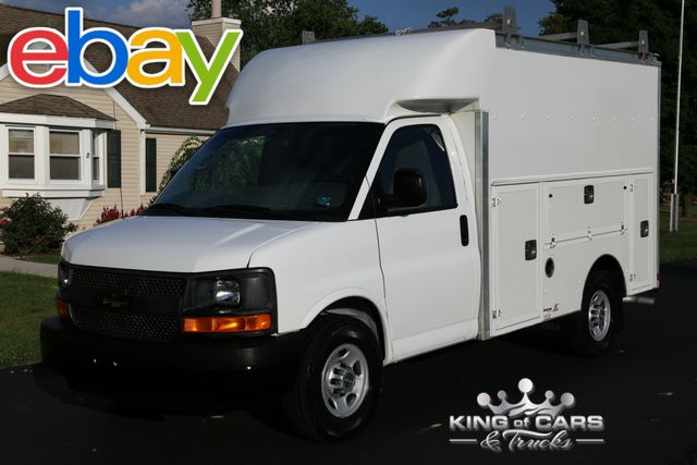 2013 Chevy 3500 Srw Spartan UTILITY SERVICE VAN 38K MILES 1-OWNER WOW in Woodbury New Jersey, 08096