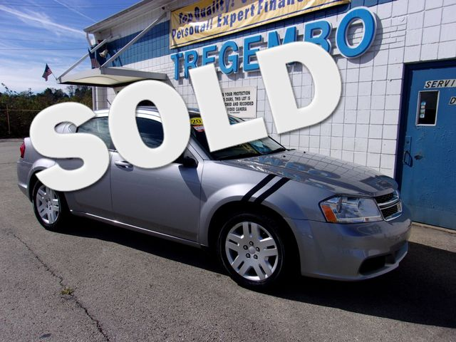 2013 Dodge Avenger SE in Bentleyville Pennsylvania, 15314