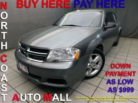 2013 Dodge Avenger SE As low as $999 DOWN in Cleveland, Ohio