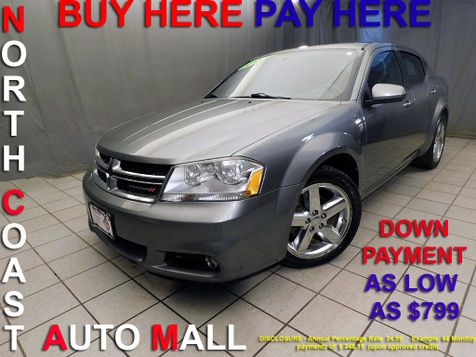 2013 Dodge Avenger SXT As low as $799 DOWN in Cleveland, Ohio