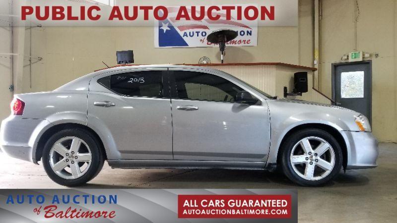 2013 Dodge Avenger SE   JOPPA, MD   Auto Auction of Baltimore  in JOPPA MD