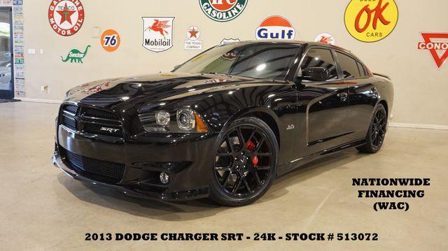 2013 Dodge Charger SRT8 ROOF,NAV,BACK-UP,HTD/COOL LTH,H/K SYS,24K
