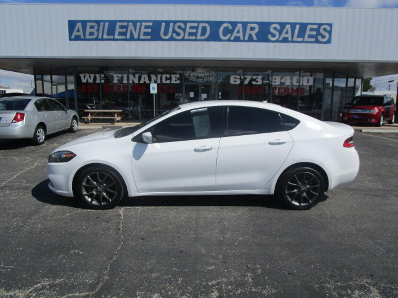 abilene used car sales abilene tx  2013 Dodge Dart SXT Abilene TX Abilene Used Car Sales
