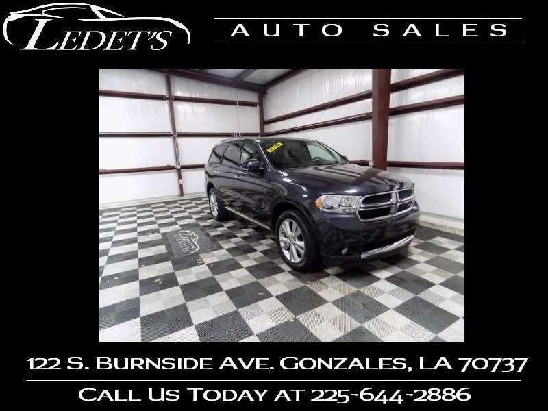 2013 Dodge Durango Crew - Ledet's Auto Sales Gonzales_state_zip in Gonzales Louisiana