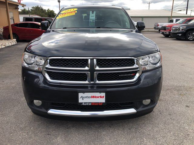 2013 Dodge Durango Crew   Marble Falls TX   Auto World of