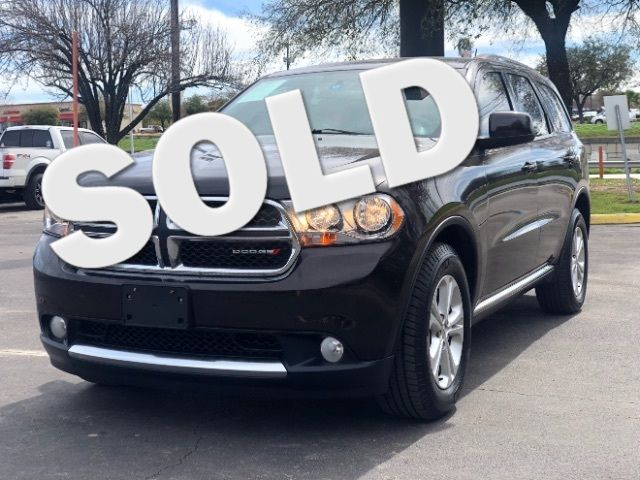 2013 Dodge Durango SXT in San Antonio, TX 78233