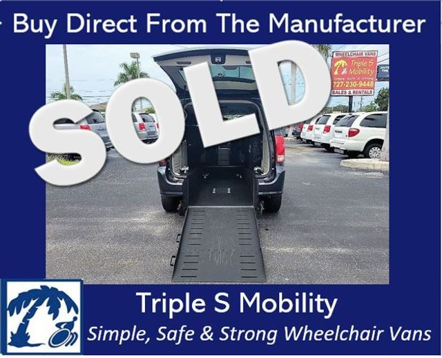 2013 Dodge Grand Caravan Sxt Wheelchair Van Handicap Ramp Van