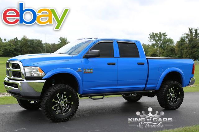 2013 Dodge Ram 2500 Slt 6.7L DIESEL 33K ACTUAL MILES 1-OWNER LIFT 4X4 RARE COLOR