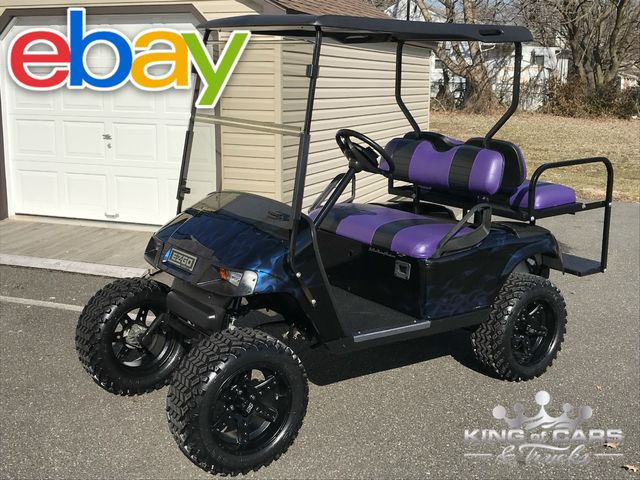 2013 Ez-Go Txt 48 Volt Electric LIFTED FRESH BUILD CUSTOM PAINT 4 SEATER