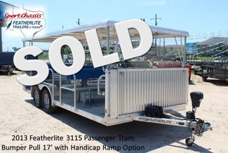 2013 Featherlite 3115 Tram Trailer CONROE, TX